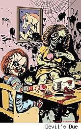 Chucky #4 cover