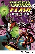 Cover of DC Comics' Green Lantern/Flash: Faster Friends Part 1