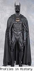 Val Kilmer screen-worn Batman costume as auctioned