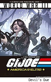 G.I. Joe: America's Elite #27 WORLD WAR III part 3 cover