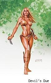 Sheena #4 cover