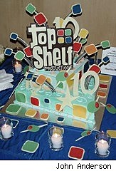 Top Shelf 10th Anniversary cake