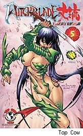 Witchblade Takeru Manga #5 cover