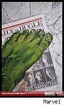 World War Hulk Front Line #1 cover