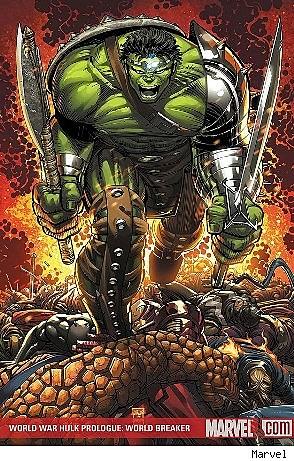 World War Hulk Prologue