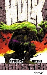 Hulk: Return of the Monster cover