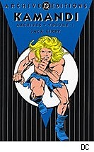 Kamandi Archives vol. 1 cover