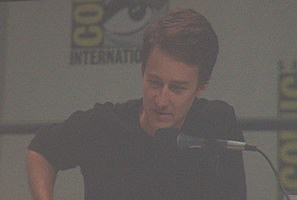 Image of Edward Norton at Comic-Con