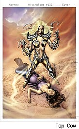 Witchblade #112 cover