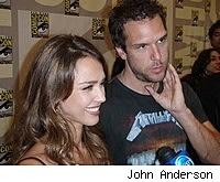 Photo of Jessica Alba and Dane Cook at Comic-Con