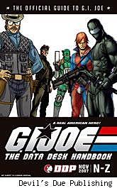 G.I. Joe: The Data Desk Handbook Collection N-Z cover