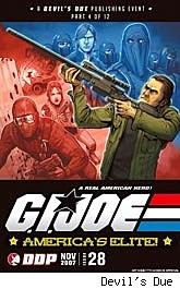 G.I. Joe: America's Elite #28 World War III part 4 of 12 cover