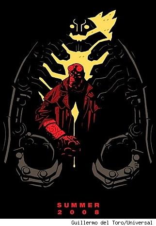 Hellboy 2 movie poster image