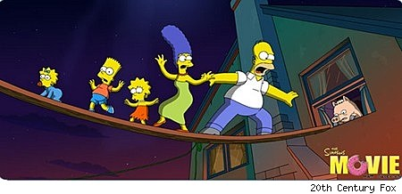 Simpsons Movie image