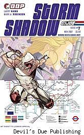 G.I. Joe: Storm Shadow #7 cover
