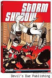 G.I. Joe: Storm Shadow TPB Vol 1: Solo cover