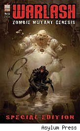 Warlash: Zombie Mutant Genesis #0 cover
