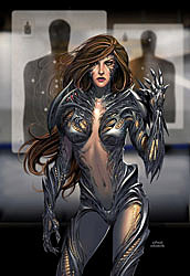 Witchblade #113 cover