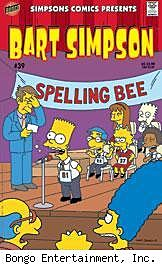 Bart Simpson #39 cover