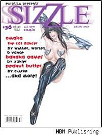 Sizzle #36 cover