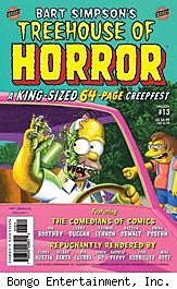 Bart Simpson's Treehouse of Horror #13 cover