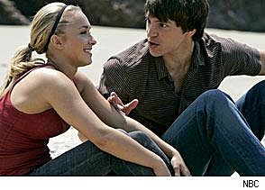 This is an image of West and Claire, from Heroes.