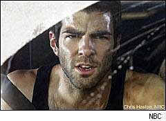 This is an image of Sylar from Heroes