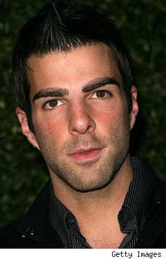 This is an image of Zachary Quinto from Heroes.