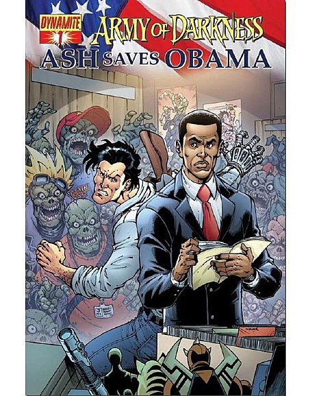 The best obama cameos in comics in what will likely be looked back upon as the height of the obama comics craze obamas freaking dog got his own comic with no less than two sciox Image collections