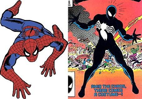 Black Spiderman Comic Spider-Man s black suit