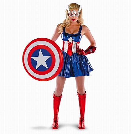 Marvel Rides the 'Sexy' Halloween Costume Craze with ...