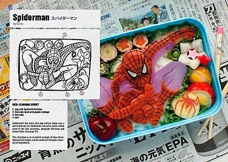 Super Mario & Comic Book Sushi: Cartoon Bento Boxes from Japan Aboutintivar.Com