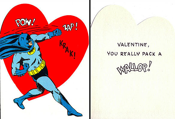 Batman Is Out To Get You On Valentines Day – Batman Valentines Day Card