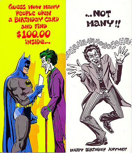 Superman Friends Greet Fans In Hilarious Cards From 1978 – Comic Birthday Greetings