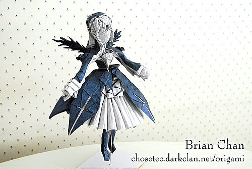 Mind Blowing Origami Based On Comics Manga Anime And Video Games