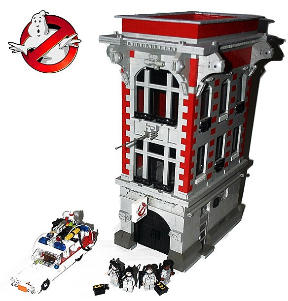 Lego Ghostbusters Firehouse 2018 Images Pictures Lego