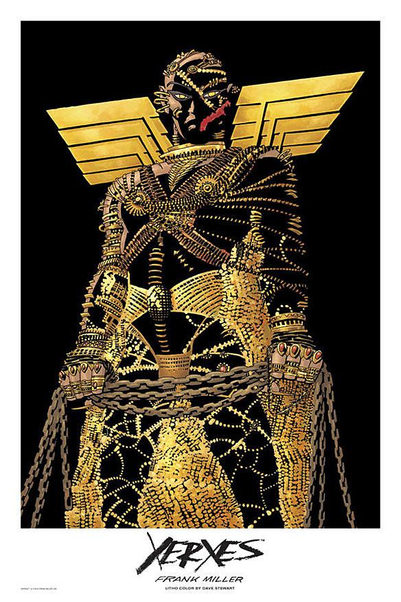 Edit  Xerxes  has been Xerxes 300 Comic