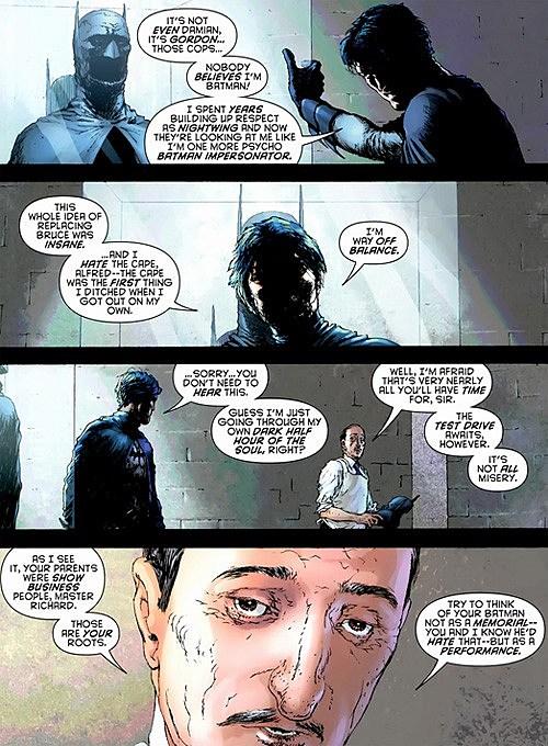 Grayson batman Dick becomes