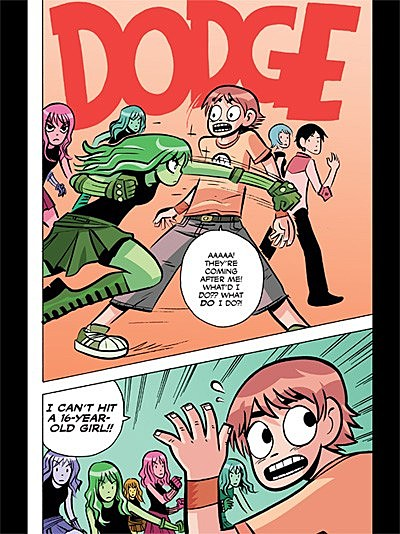 the only thing thats missing that id really like to see show up there is the four page kim pine solo story from fcbd 07 but as thats already available - Scott Pilgrim Books In Color