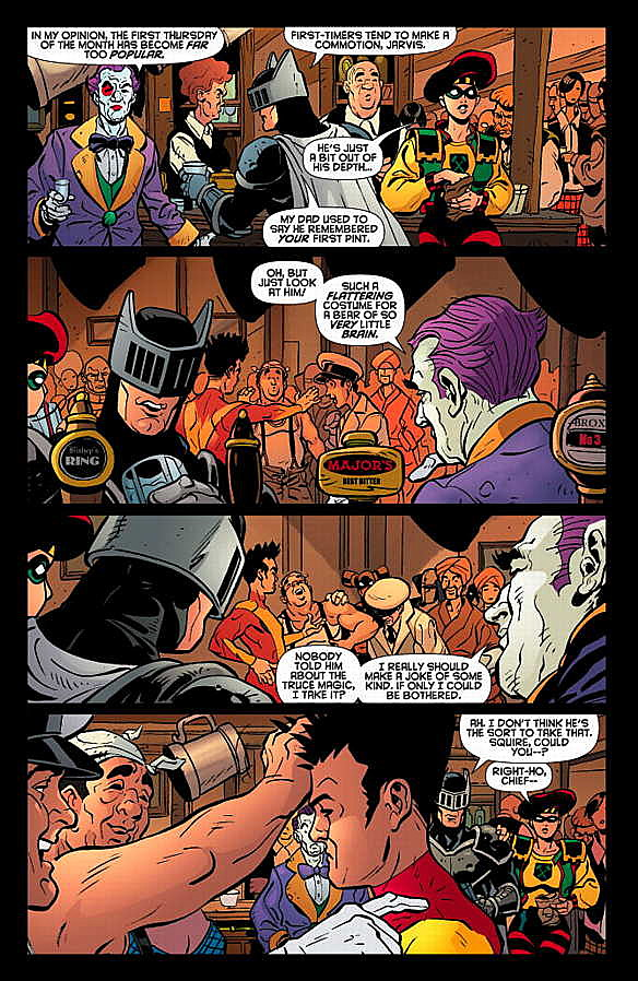 Paul Cornell Explains the 100 New DC Characters in 'Knight and ...