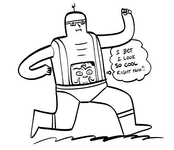 kraang coloring pages - photo#15