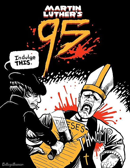 95 theses rap questions 95 theses rap analysis sheet lyrics if you havin' church problems then don't blame god, son i got ninety-five theses but the pope ain't one.