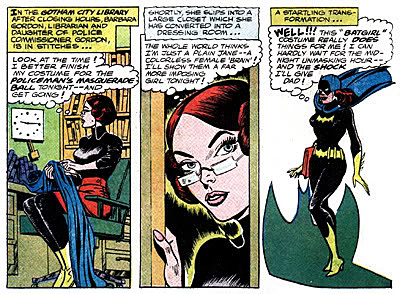 an early batgirl comic