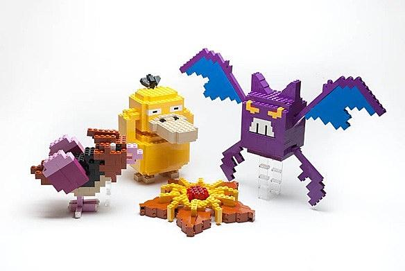 mini lego pokemon instructions