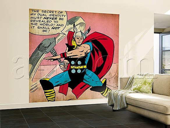 Also Available At Art.com Are A Number Of Other Marvel Pieces Using More  Modern Artwork, But Weu0027ve Put Together A Little Gallery Of The Awesome  Retro Stuff ...