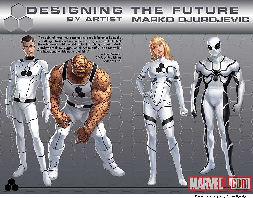 Fantastic Four Get a N...