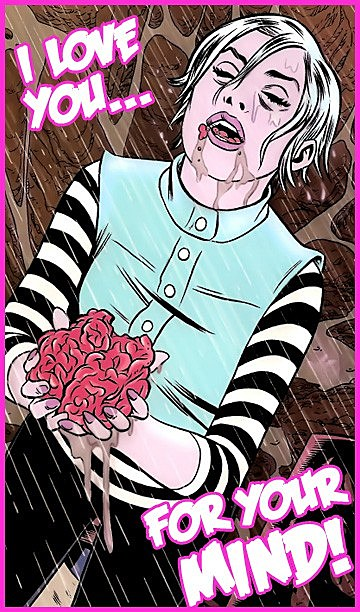 Share your love and probably ruin your relationship with 11 comic gwen from izombie knows what makes a real romance voltagebd Choice Image