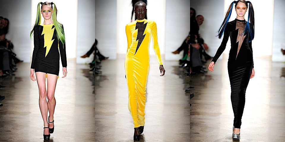Dc Superhero Inspired Fashion On The Runway At Ny Fashion Week