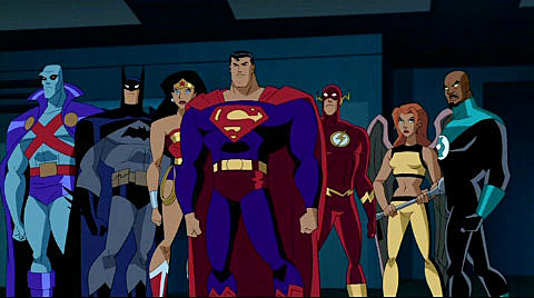 Parting Shot: Artist Ryem Adds Animated 'Young Justice ... |Justice League Unlimited Characters