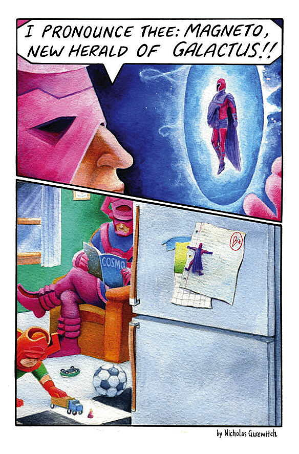'Perry Bible Fellowship' Meets Galactus in the 'Strange ...